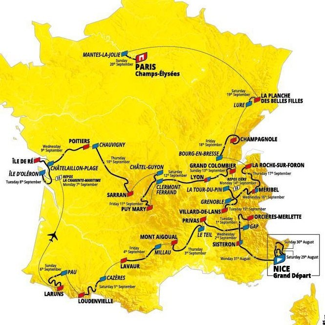 Tour de France 2020 - New Dates