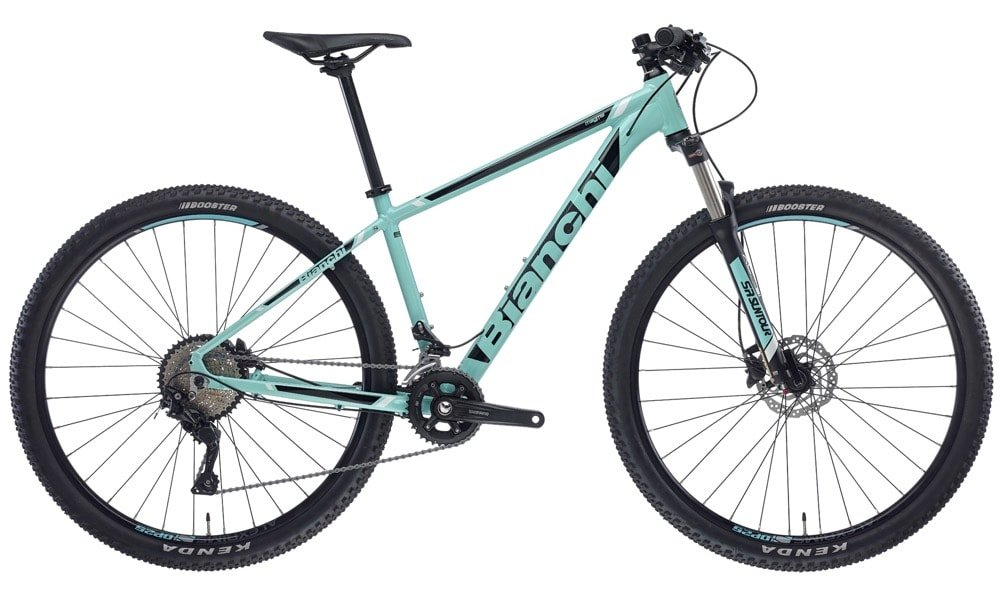 BIANCHI Magma 9.0 semi-rigid mountain bike