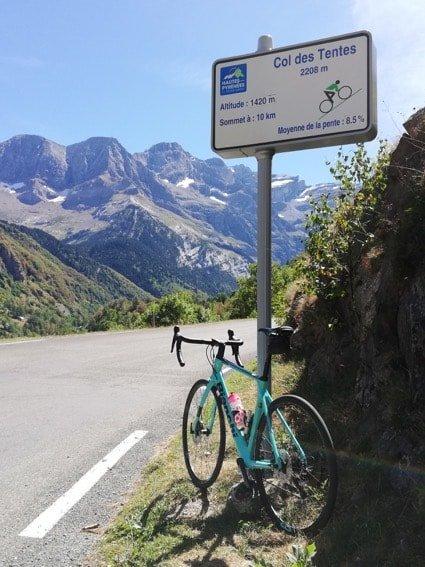 Col des Tentes 10km to go