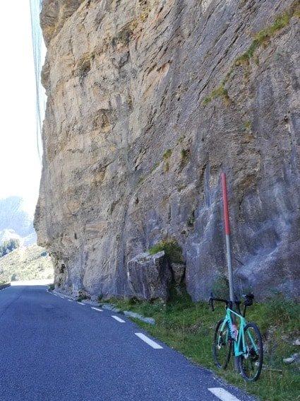 Col des Tentes rock face